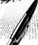 Nghệ thuật viết bài luận Tiếng Anh