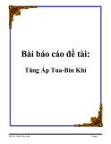 Bài báo cáo đề tài: Tăng Áp Tua-Bin Khí