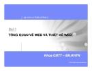 Lập trình và thiết kế Web 2