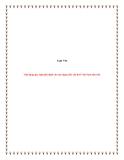 Đề Tài: Vận dụng quy luật phủ định vào xây dựng nền văn hoá Việt Nam tiên tiến