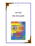 Giới thiệu phần mềm Sap2000