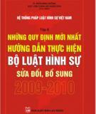 Bộ luật hình sự 2009