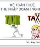 Bài tập thuế