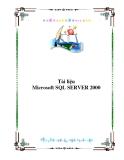 TÀI LIỆU MICROSOFT SQL SERVER 2000