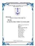 Tiểu luận: Quản lý khai thác đội tàu