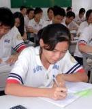 Đề thi thử vào lớp 10 năm 2009-2010 - Môn Toán