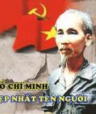 Tiểu luận môn tư tưởng Hồ Chí Minh