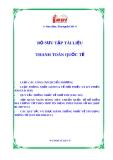 Bộ sưu tập tài liệu về thanh toán quốc tế