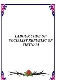 LABOUR CODE OF SOCIALIST REPUBLIC OF VIETNAM