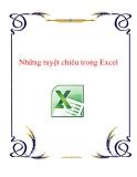 Những tuyệt chiêu trong Excel