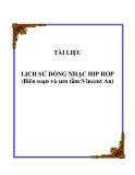 Lịch sử Hip Hop