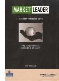 Market leader teacher book Pre-Intermediate