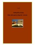 Tài liệu Hướng dẫn sử dụng Phần mềm quản lý công văn văn bản