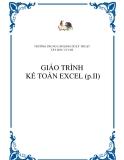 GIÁO TRÌNH KẾ TOÁN EXCEL (p.II)