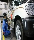 Kỹ thuật sửa chữa ô tô - Sửa chữa cơ cấu khuỷu trục thanh truyền