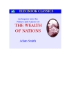 Sách The wealth of nations