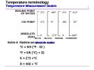 Temperature terminology