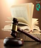 Một số vấn đề về kỹ thuật soạn thảo văn bản quy phạm pháp luật, ngôn ngữ pháp lý