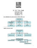 Hệ thống thiết kế rập và giác sơ đồ Lectra