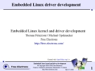 EmbeddedLinuxdriverdevelopment