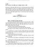 Luật về ban hành văn bản quy phạm pháp luật