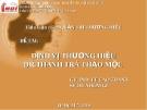 """Tiểu luận """"ĐỊNH VỊ THƯƠNG HIỆU DR.THANH trà thảo mộc"""""""