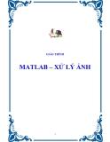 Mathlab - Xử lý ảnh