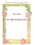 Trắc nghiệm lý thuyết  về Marketing