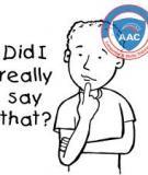 Những câu tiếng Anh hay dùng trong khi nói