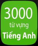 3000 từ Tiếng Anh thông dụng nhất