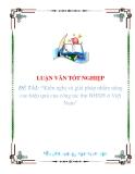 """Luận văn""""Kiến nghị và giải pháp nhằm nâng cao hiệu quả của công tác thu BHXH ở Việt Nam"""""""