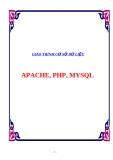 GIÁO TRÌNH CƠ SỞ DỮ LIỆU : APACHE, PHP, MYSQL