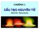 Bài giảng: Chương 1. Cấu tạo nguyên tử