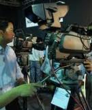 Qui trình sản xuất tác phẩm truyền hình