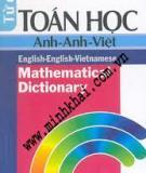 Ebook Từ điển Toán học Anh - Việt - NXB Khoa học Kỹ thuật
