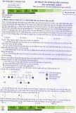Đề thi Đại học môn Sinh khối B năm 2010 - Mã đề 958