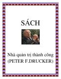 Nhà quản trị thành công PETER F. DRUCKER