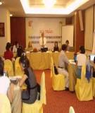 Thủ tục đăng ký đề nghị tài trợ tổ chức hội nghị, hội thảo khoa học quốc tế tại Việt Nam
