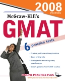 McGraw-Hill's GMAT - 6 practice tests