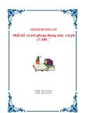 Đồ án tốt nghiệp: Thiết kế và mô phỏng thang máy với PLC S7-300 - GVHD Trần Văn Khôi