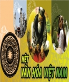 Tìm hiểu về văn hóa Việt Nam và những biến đổi trong văn hóa Việt Nam