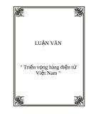 """Đề tài """" triển vọng hàng điện tử Việt Nam """""""