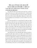 """Đề tài """"PHÁP LUẬT GIẢI QUYẾT TRANH CHẤP KINH TẾ Ở NƯỚC TA HIỆN NAY"""""""