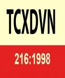 Tiêu chuẩn xây dựng TCXD 216:1998