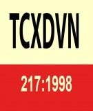 Tiêu chuẩn xây dựng TCXD 217:1998