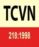 Tiêu chuẩn xây dựng TCXD 218:1998