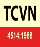 Tiêu chuẩn Việt Nam TCVN 4514:1988