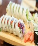 Sushi chay - Món ăn yêu thích của ông vua nhạc Pop