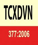 Tiêu chuẩn xây dựng Việt Nam TCXDVN 377:2006