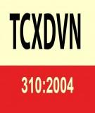 Tiêu chuẩn xây dựng Việt Nam TCXDVN 310:2004